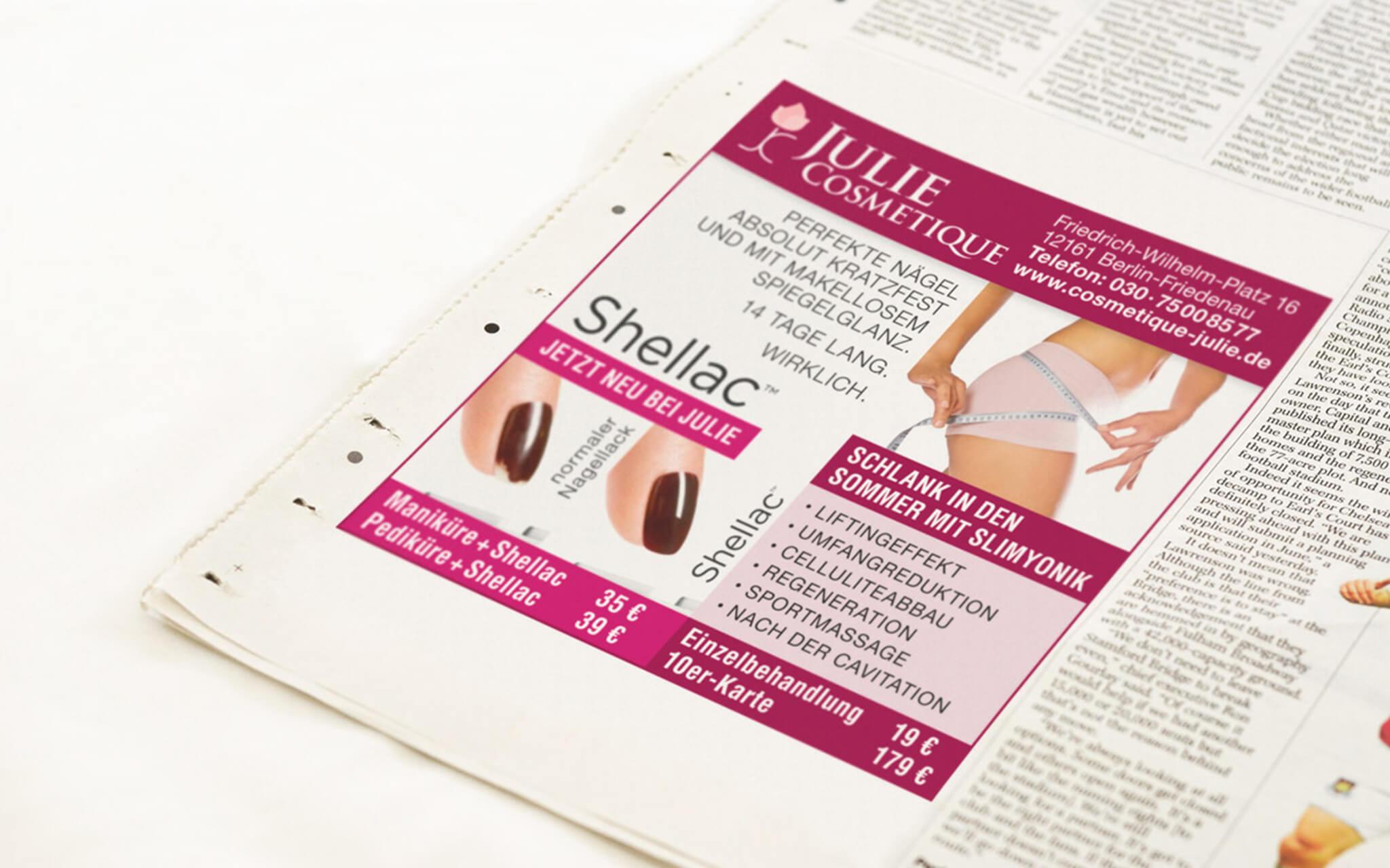 mediarock-cosmetique-julie-anzeige