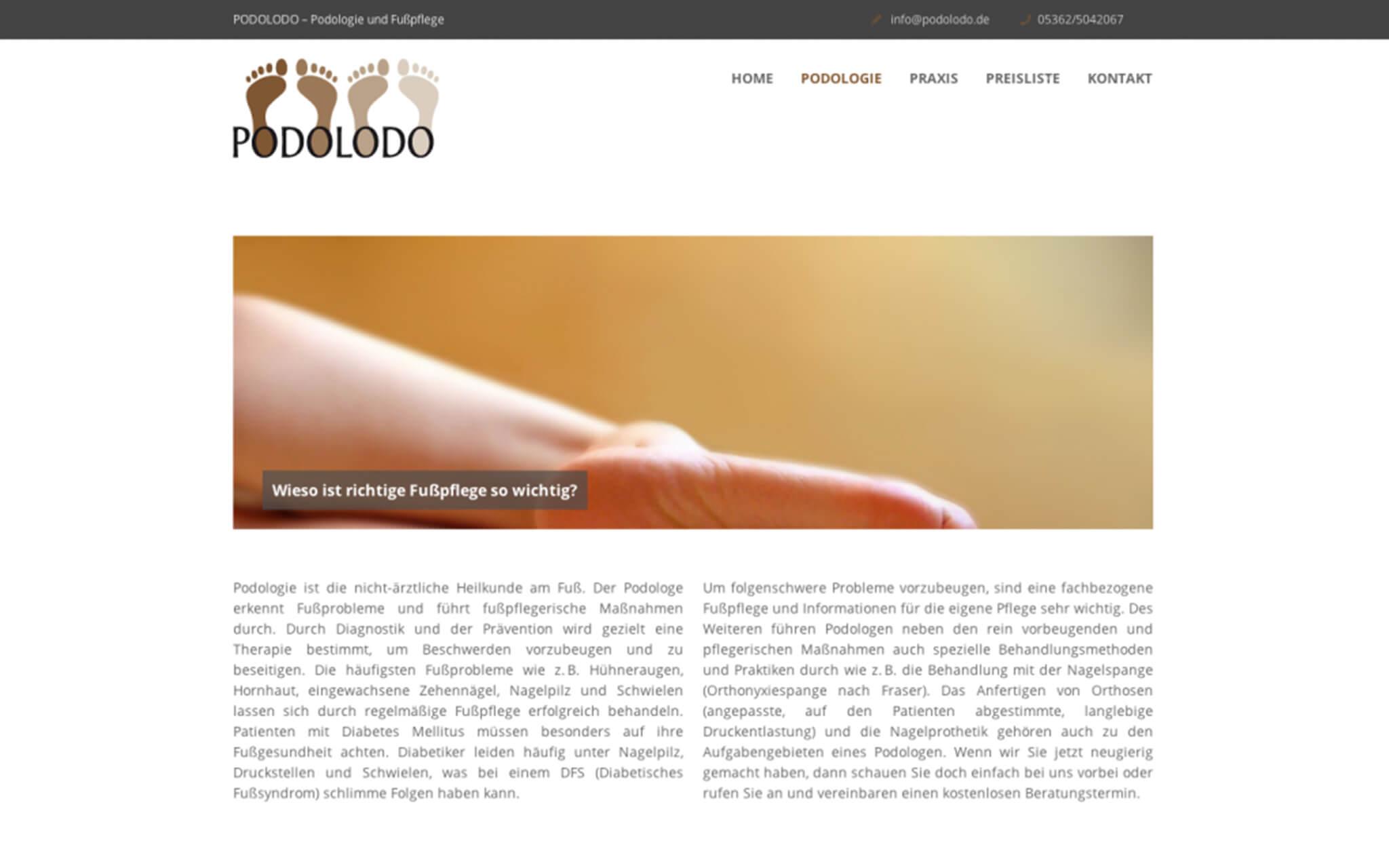 mediarock-podolodo-website